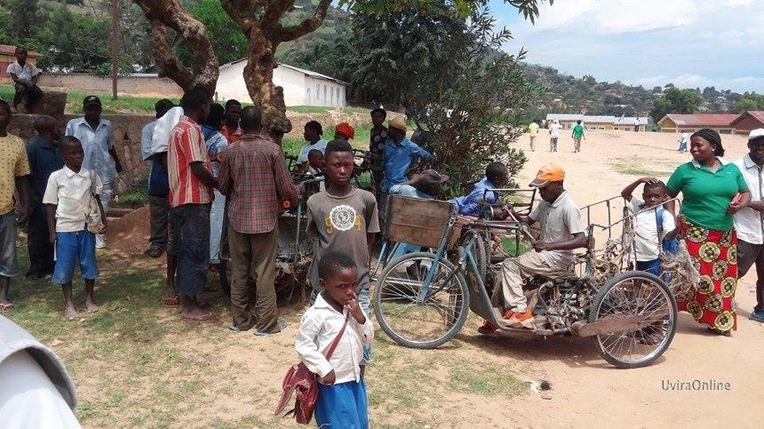 Uvira : Sit-in des handicapés à la mairie réclamant l'ouverture de la frontière du Congo-Burundi.