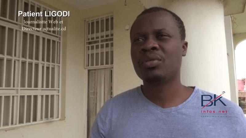 JOURNEE POUR LE CRIMES COMMIS CONTRE DES JOURNALISTES : Patient LIGODI fustige les crimes commis contre les journalistes en Rdc (vidéo.)