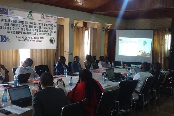 Sud-Kivu : CCPF en atelier sur les orientations stratégiques de forets.