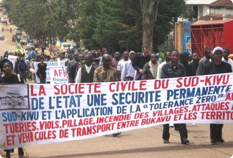 Sud-Kivu : La société civile conditionne sa participation aux consultations du gouverneur NGWABIDGE par un procès de l'incident de funu.