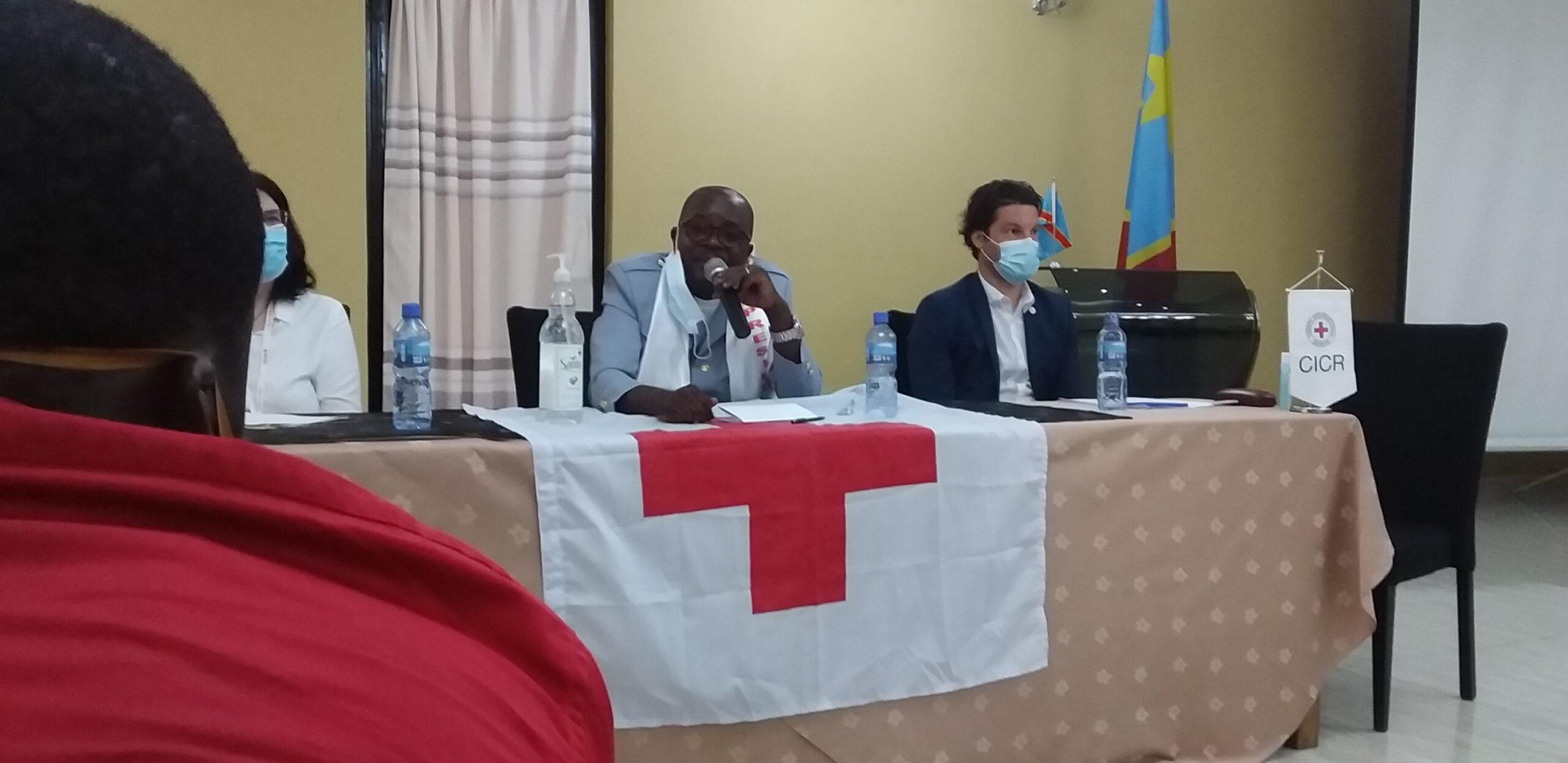 60 ans de la Croix-Rouge RDC : Au Sud-Kivu, la croix rouge réclame qu'elle soit inscrite au budget provincial.