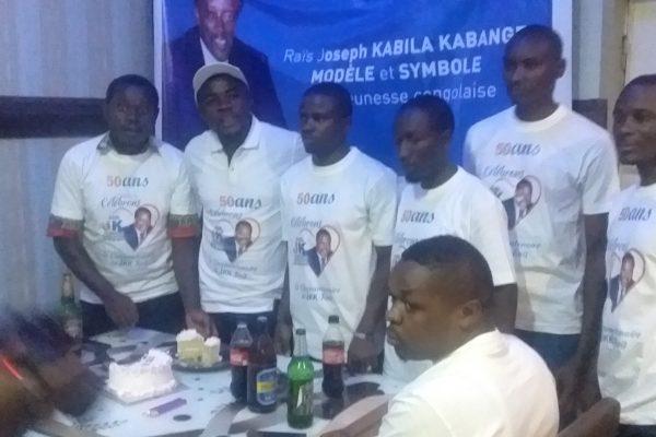 """Cinquantenaire de JKK à Bukavu : """" Nous célébrons son charisme Présidentiel et son amour envers le Congo"""". Jeunes kabilistes asbl."""