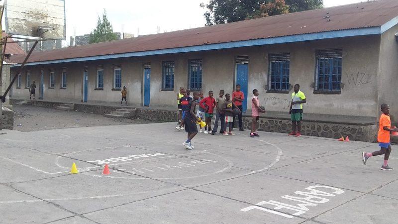 Éruption Nyiragongo à Goma : Le basket-ball reprend timidement.