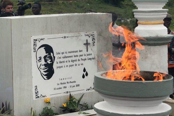 3 ans de la mort de Luc NKULULA :  '' Nous rendons hommage au courage et à la détermination dont il a fait preuve durant sa vie militante.''  Dr Denis MUKWEGE.