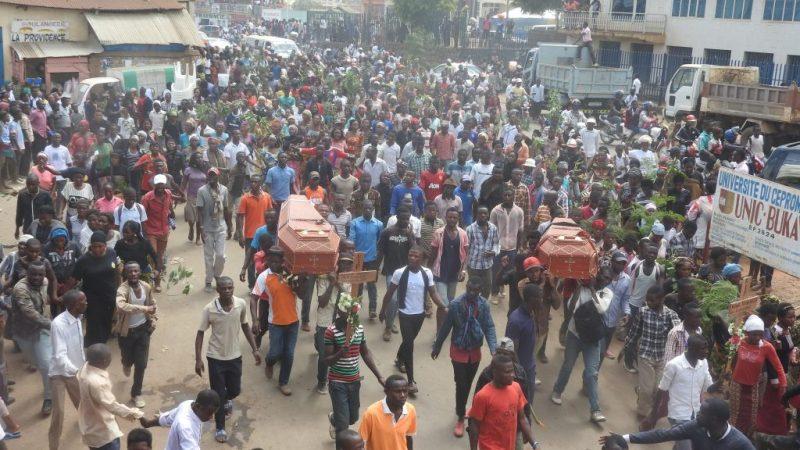 Bukavu :  103 maisons visitées et 38 personnes assassinées entre janvier – juillet 2021