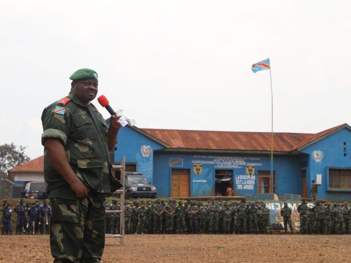Présence des Fardc dans les mines au Sud-Kivu  : »Je crois qu'il faut délier la présence de FARDC dans les mines et la politique minière. » Général Bob KILUBI.