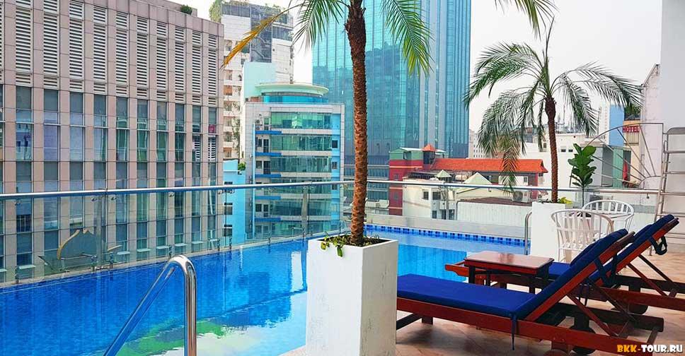 Huong Sen Annex - Лучшие отели с бассейном в Сайгоне (Хошимин)