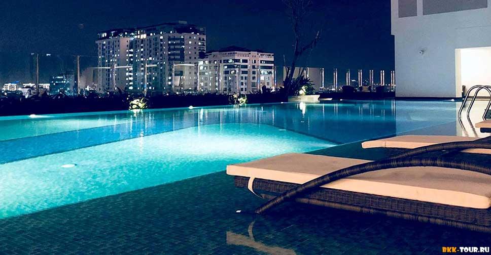 Infinity Edge Pool - Rivergate - Лучшие отели с бассейном в Сайгоне (Хошимин)