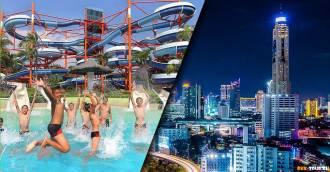 2-in-1 Combo Ticket Siam Park City + Dinner on 69th Floor at Baiyoke Sky Hotel