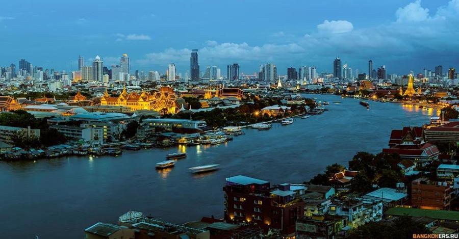 Главная река Таиланда — Чаопхрайя