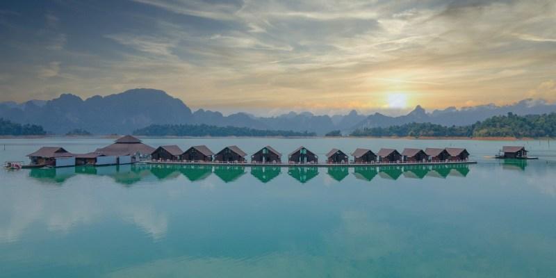 【泰國國旅】飯店套裝:500 Rai Floating Resort - Surat Thani 素叻他尼500萊漂浮水上屋2 天 1 夜自由行包套行程