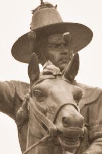 King Taksin Statue Detail