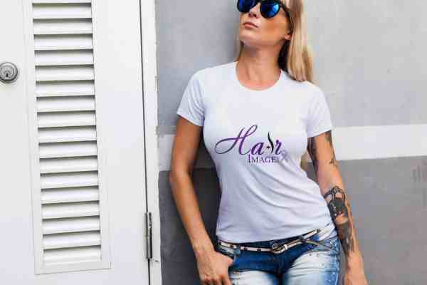 hairimageinc fullcolorlogo womangreytshirt scaled