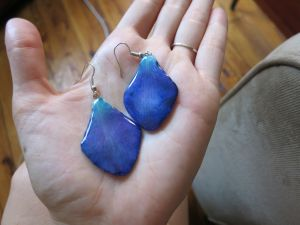 Dendrobium Sonia Earrings by Koni Creations