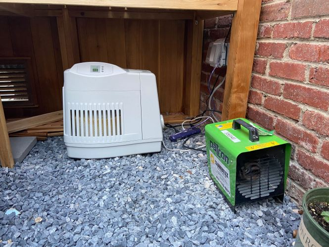Humidifier and heater