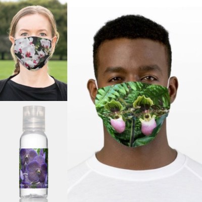 Zazzle masks & hand sanitizer