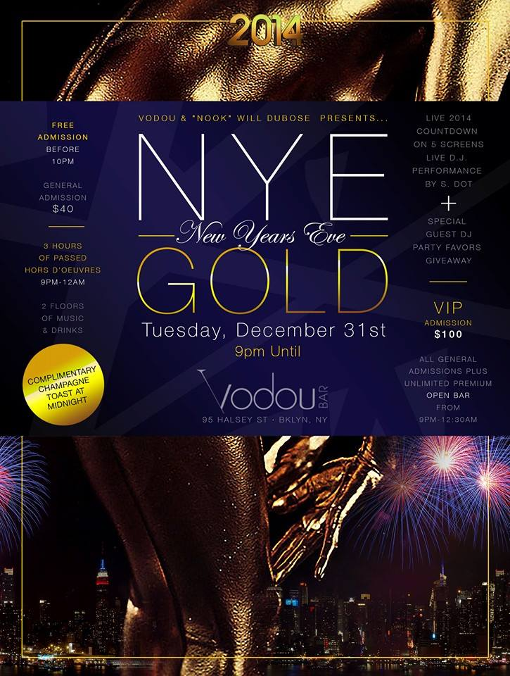 New Year's Eve Party at Vodou Bar