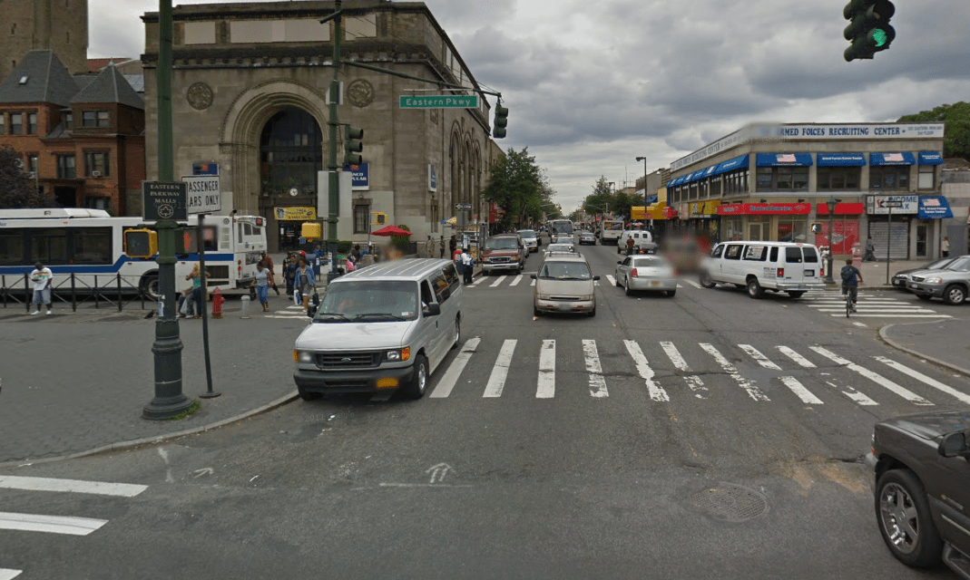 Woman in critical condition after hit and run at Utica and Eastern Parkway in Crown Heights