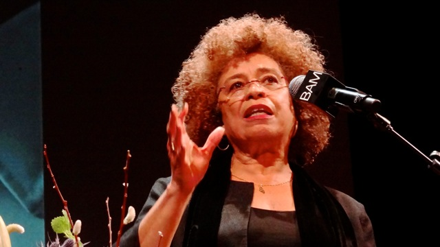 Angela Davis speaks at Brooklyn Academy of Music's Annual Tribute and Celebration to Dr. Martin Luther King, Jr.