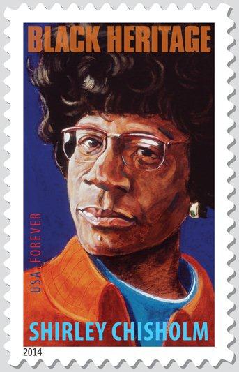 Bed-Stuy native Shirley Chisholm gets her own stamp!