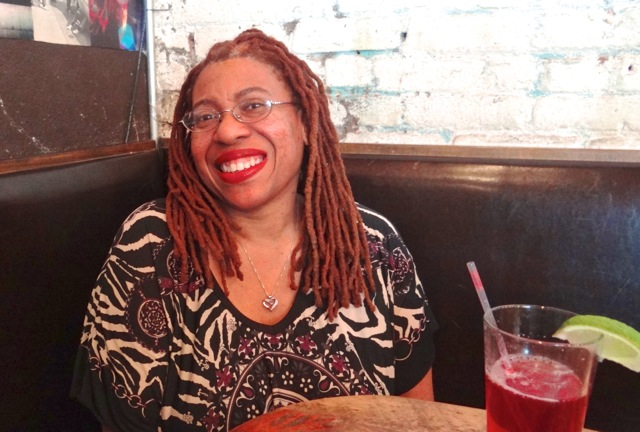 Carolyn Butts, founder of African Voices Communications and African Voices Magazine