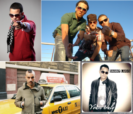 Participating in the Latin Music Conference (clockwise) is J-Alva, Lozoneros, El Muchelo, Danny Lugo and many more