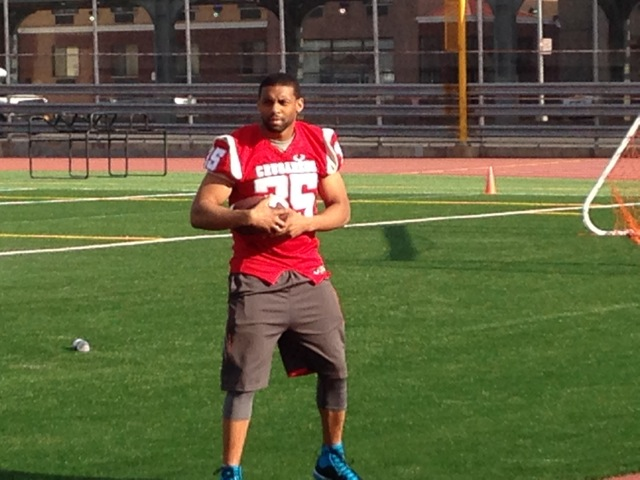 Tywan Anthony, founder of the Bedford-Stuyvsant Crusaders Semi-Pro Football League
