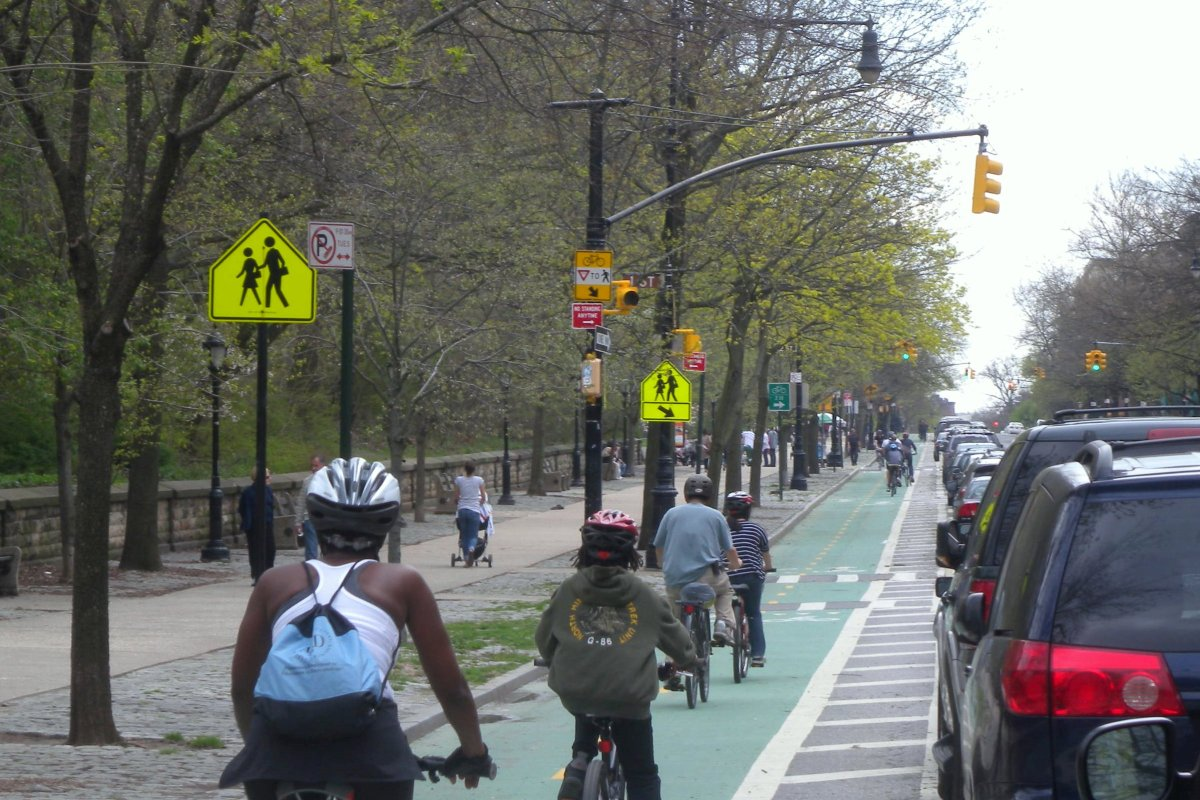 Crown Heights most infamous Bike Lanes