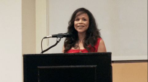 """Rosie Perez at Bedford-Stuyvesant Restoration Corporation for the signing of her new book """"Unpredictable Life"""""""