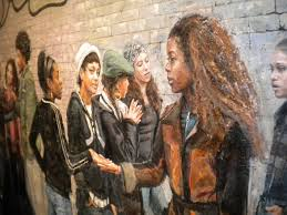 """From """"The Gentrification of Brooklyn,"""" Exhibit at MoCADA Museum"""