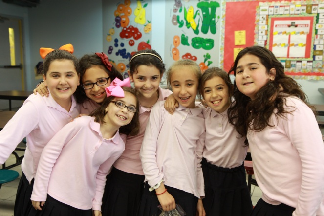 Girls at a Lubavitch School in Crown Heights Photo: lecfl.com