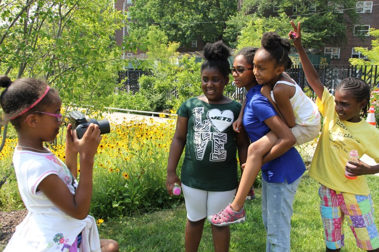 Youth at Weeksville Heritage Center