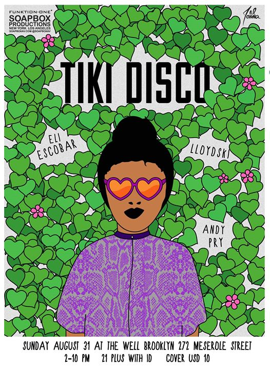Tiki Disco is all the way live