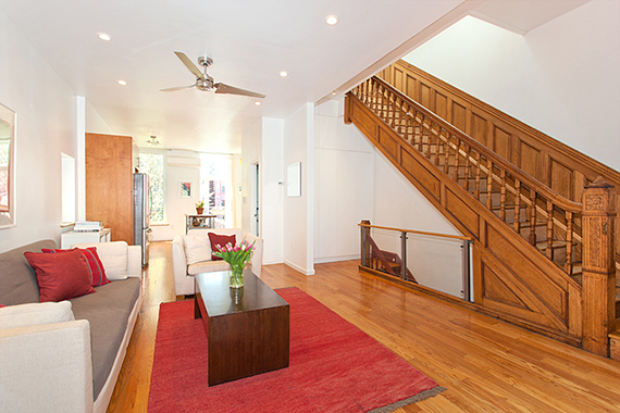 This 6 bedrrom, 3 bathroom townhouse at 96 Quincy Street sold for $2.25 million on June 18.
