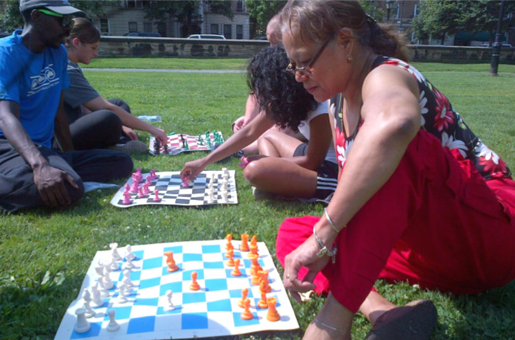 Queen to pawn one - Chess Tourney Tomorrow