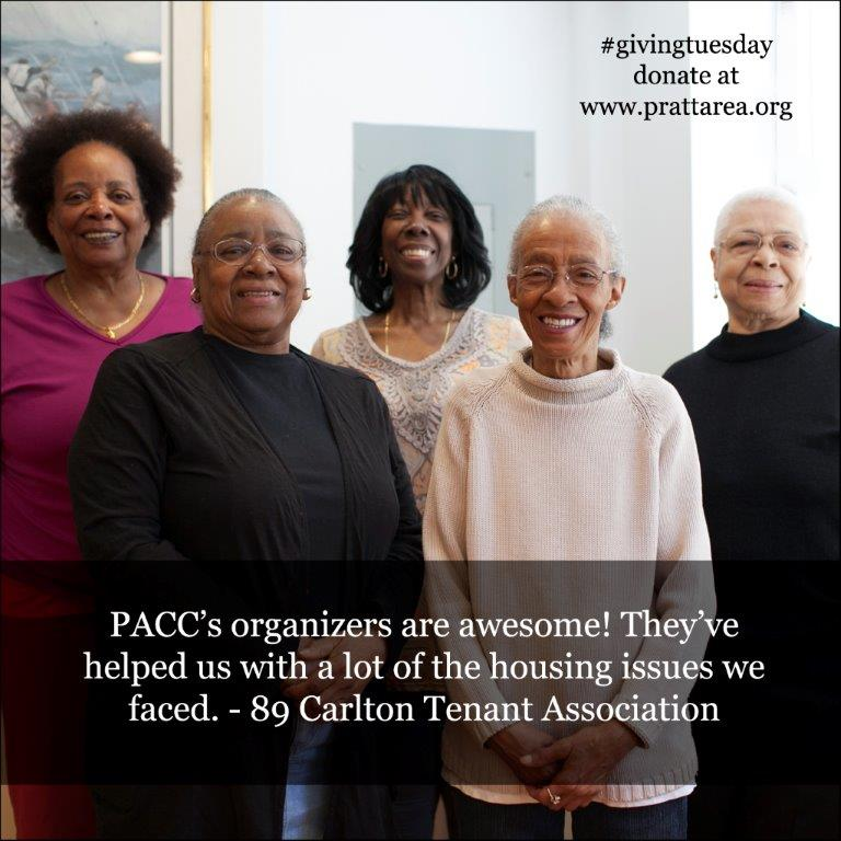 giving tuesday - tenant organizing