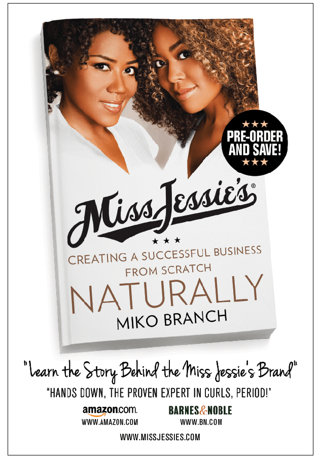 Miko Branch, Miss Jessie's, natural hair products, kinky hair
