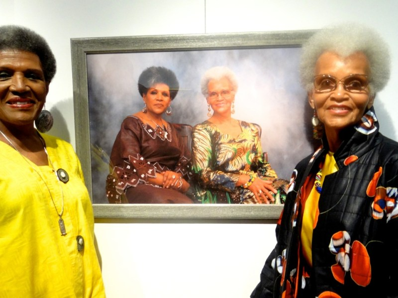 Afros: A Celebration of Natural Hair, Michael July, House of Art Gallery