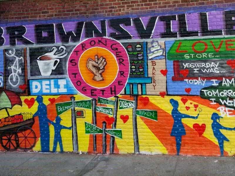 A new map shows that parts of Brownsville have already begun gentrifying while other sections may be up next for the economic shift.