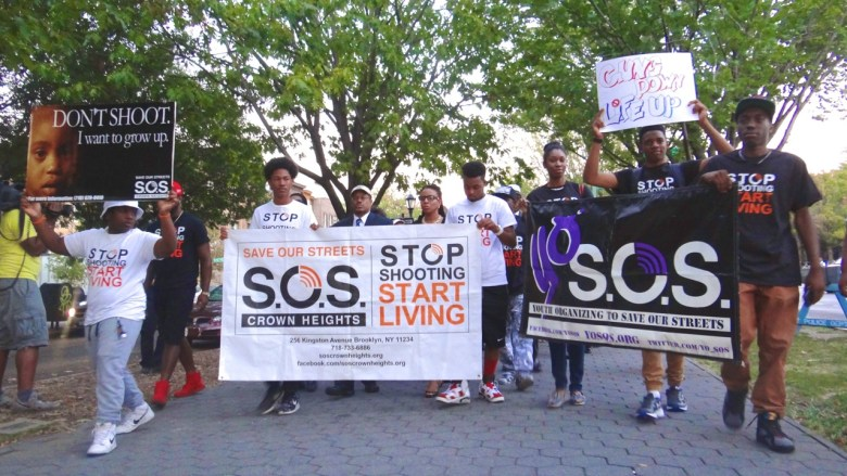 Peace Over Violence March through Crown Heights, 9/17/15