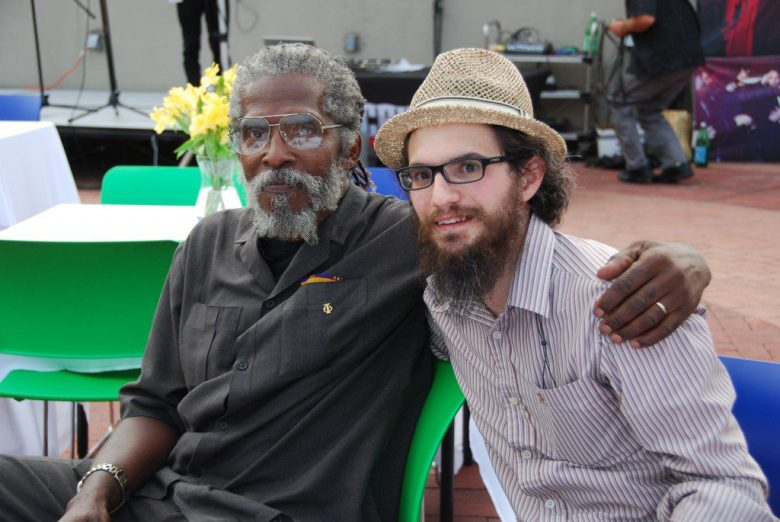 Richard Green and Yudi Simon were instrumental in claiming the streets during the Crown Heights riots. Photo: Maxine Dovere.