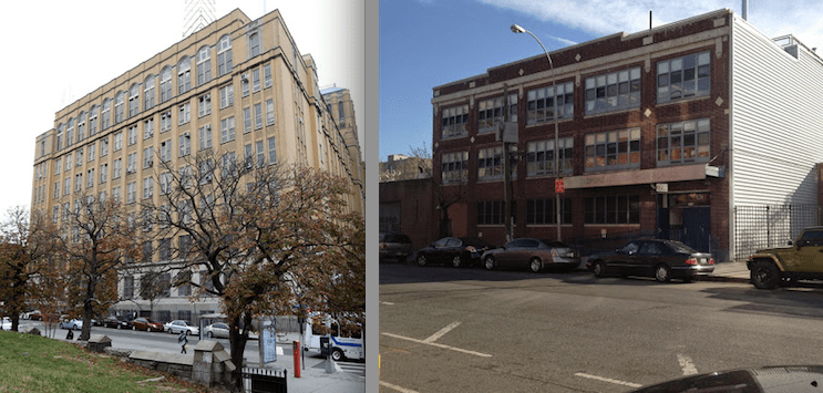 Brooklyn Technical High School (left) in Fort Greene and Bedford Academy High School in Bed-Stuy were ranked amongst the top 100 public high schools in the state.