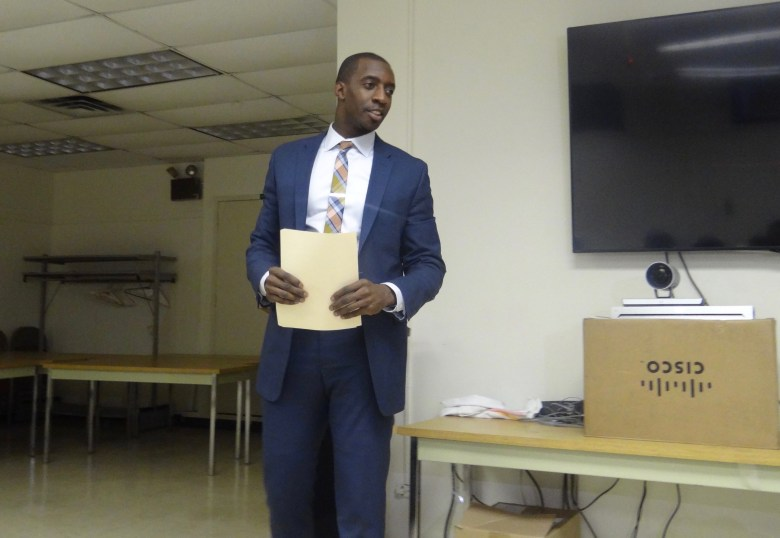 Dr. Torian Easterling, Assistant Commissioner of the NYC Department of Health and Mental Hygiene