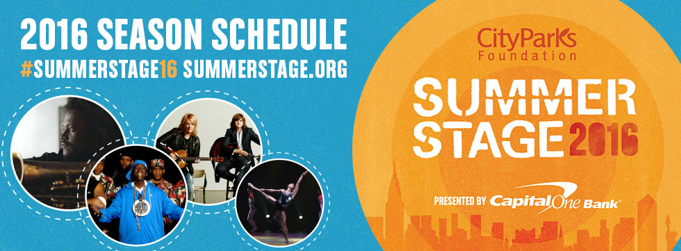 Summerstage, NYC festival, free festival