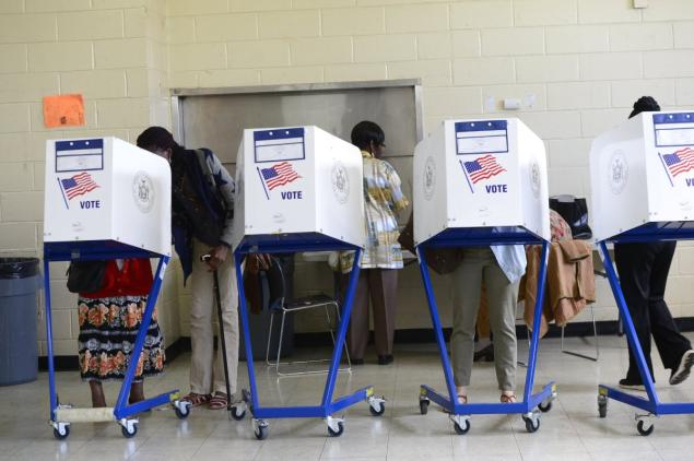 New York election official ousted after her error purged over 100,000 Brooklyn voters from the rolls, wreaking havoc at polls