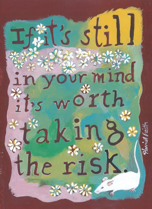 Harriet Faith, Art, Illustration, Pay Attention To Your Dreams, Quotes, Inspiration, Motivation, Dreams, Hand Lettering, Drawing, Painting, Paulo Coelho, Brazil, Writing, Taking Risks, Worth It