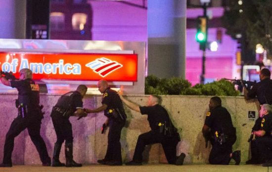 Cops In Dallas After Shooting