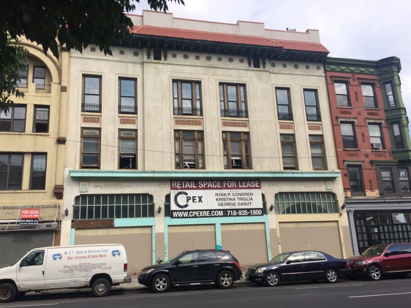 The building proposed for the shelter. 1217 Bedford Ave.