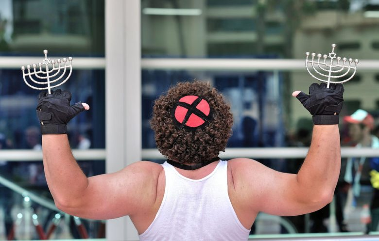 Jewish Wolverine at the San Diego Comic Con 2015 39 Photo: JCD Images