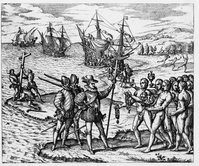 """The First Peoples """"great"""" America was assailed by Europe and disease, chicanery and religion"""